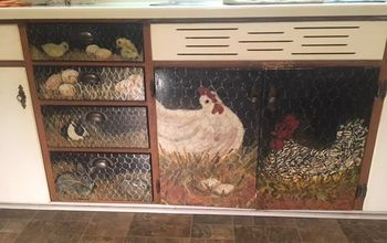 Painted Animals on Cabinet Doors and You Can, Too!