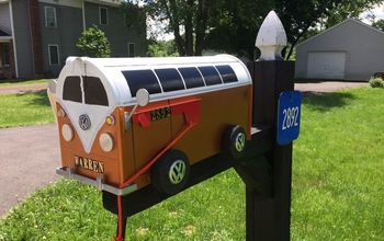 mailbox makeover, After