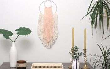 DIY  Boho Style Wall Hanging