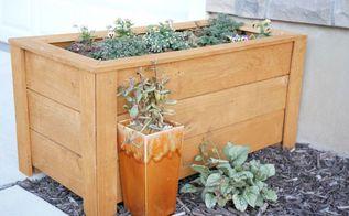 23 diy cedar planter box