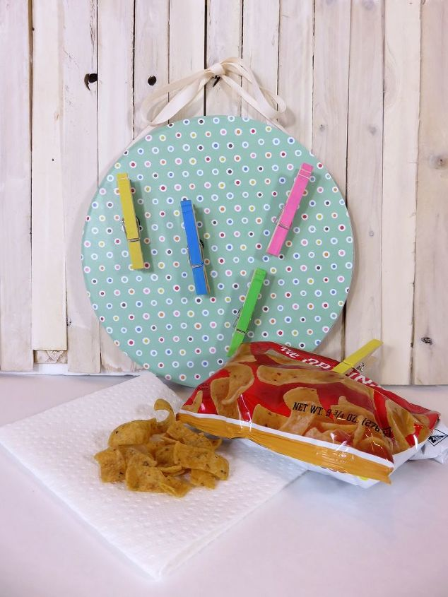 s 30 super cute easy diy ideas for your kitchen, Magnetic Chip Clips