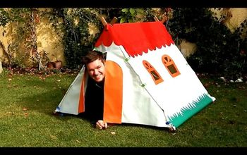 Play Tent for Kids - Summer Fun DIY!