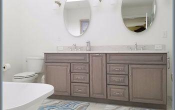 from blah to spa master bath renovation