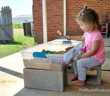 diy portable sand box