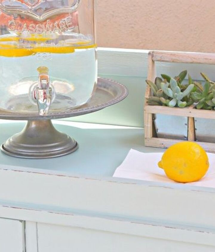 the happy hour beverage potting cart