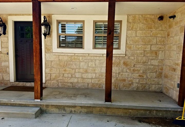 Quick Easy Front Porch Makeover