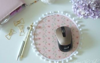 A Cute and Easy DIY Mouse Pad