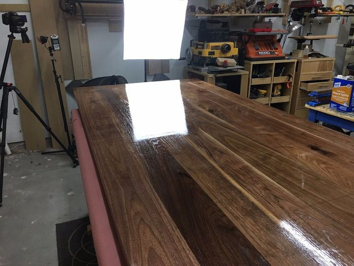 farmhouse table with breadboard ends