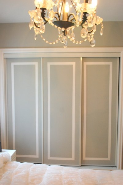 s 11 awesome projects to fake your way to the perfect home, Press Faux Trim To Your Closet Doors