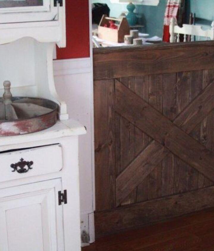 Diy Barn Door Baby Gate Hometalk