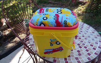 Cat Litter Bucket Re Use