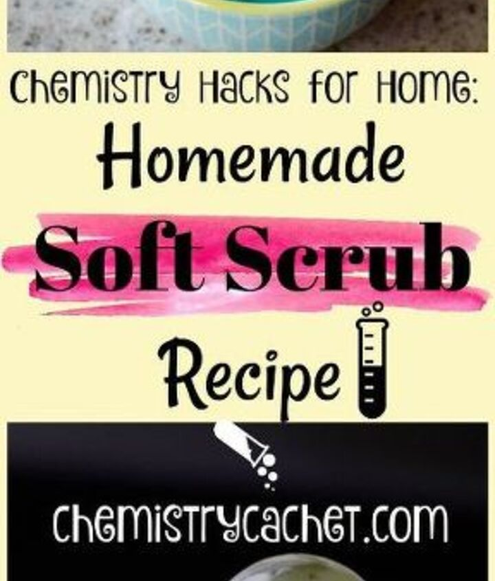 refresh your home with this homemade soft scrub recipe