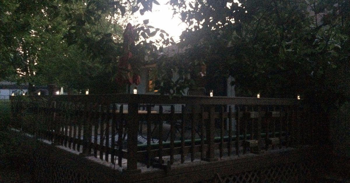 Diy solar deck lighting hometalk aloadofball Images