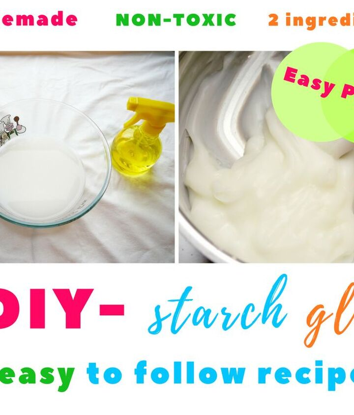 diy starch glue