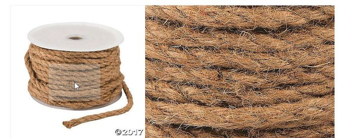 how to easily create a stunning braided jute centerpiece