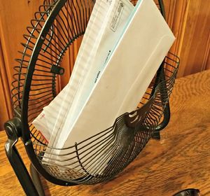 s 15 ways pretty places to put your mail organized