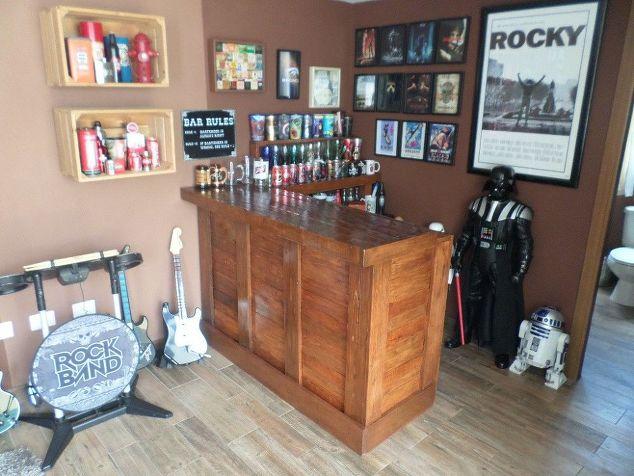 Old Desk... Home Bar! | Hometalk