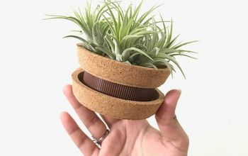 Coasters + Jar Lid = Beautiful Planter!