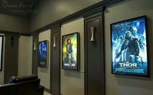 lighted movie poster box