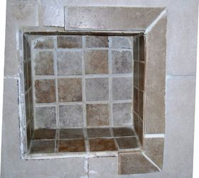 Q Ideas Re Tile Re Frame Shower Niche Shelve