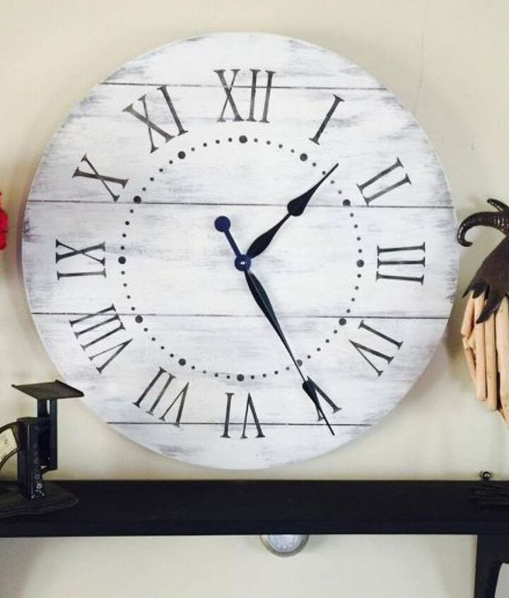 diy large farmhouse clock at a not so large price