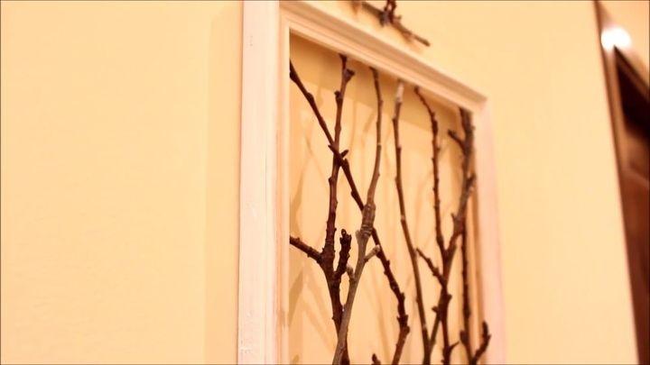 DIY Framed Tree Branches | AMAZING Wall Decor Idea | Hometalk