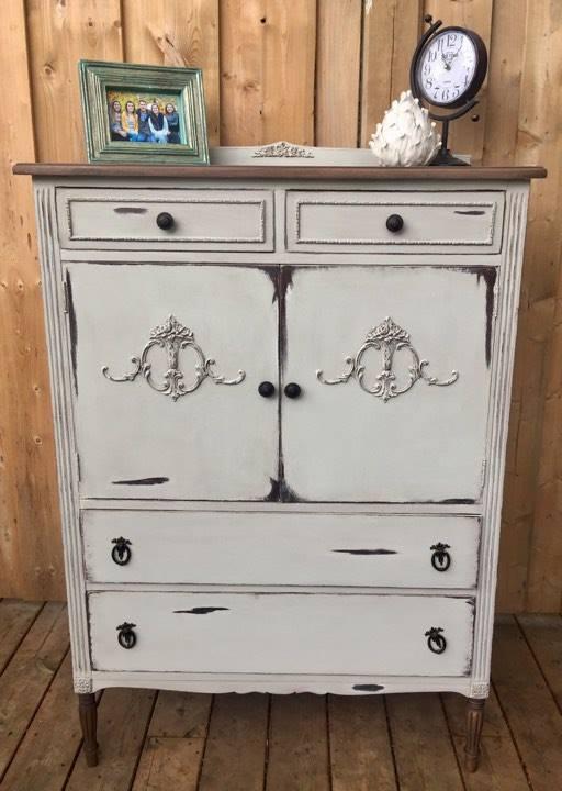 antique linen cabinet makeover - Antique Linen Cabinet Makeover Hometalk