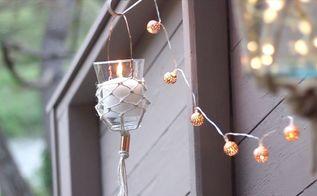 diy hanging lantern part 2