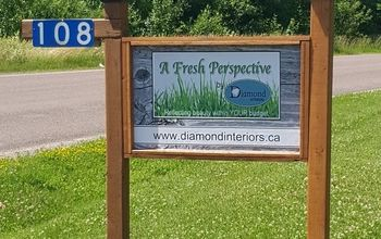 Outdoor Business Sign . . . on a Budget!