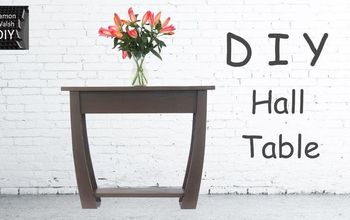 DIY Hall Table