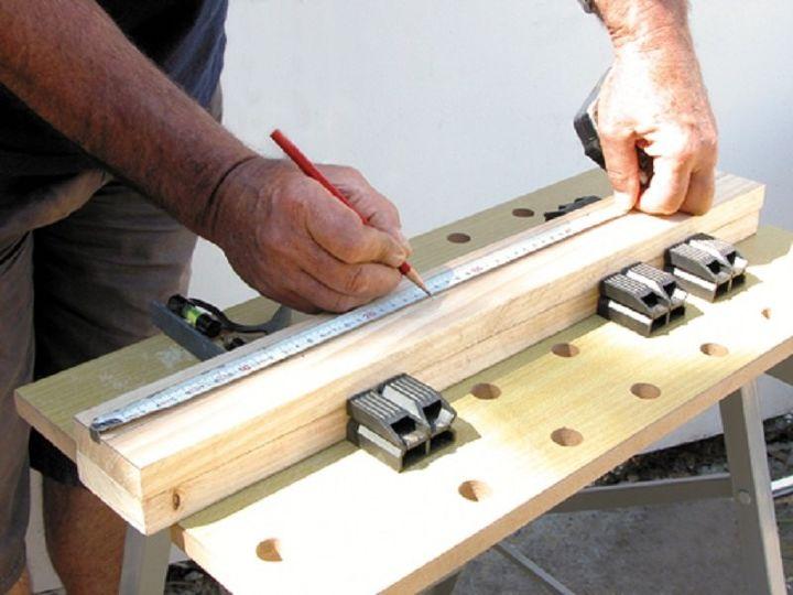 DIY Wooden Hanging Pot Rack | Hometalk
