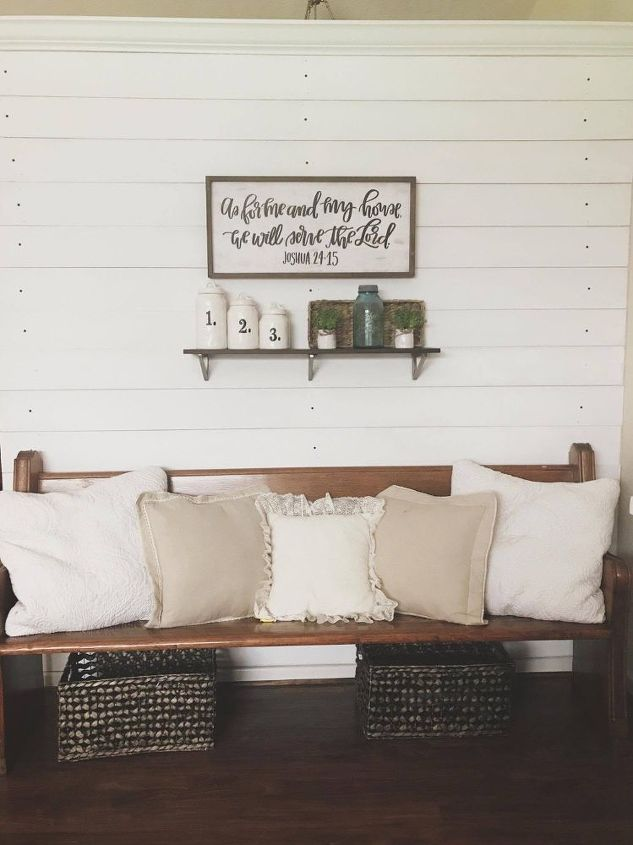 diy shiplap wall for 50