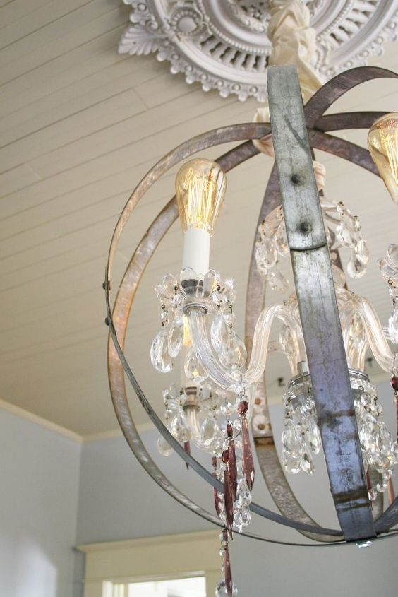 Make Your Own Caged Orb Chandelier An Easy Diy Hometalk