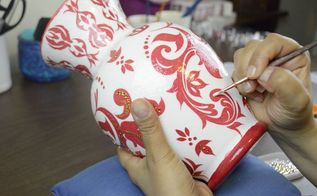 paper napkin mod podge vsdiy decoupage
