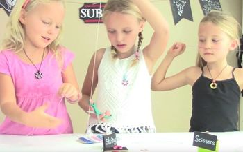 how to make washer necklaces diy jewelry kids craft