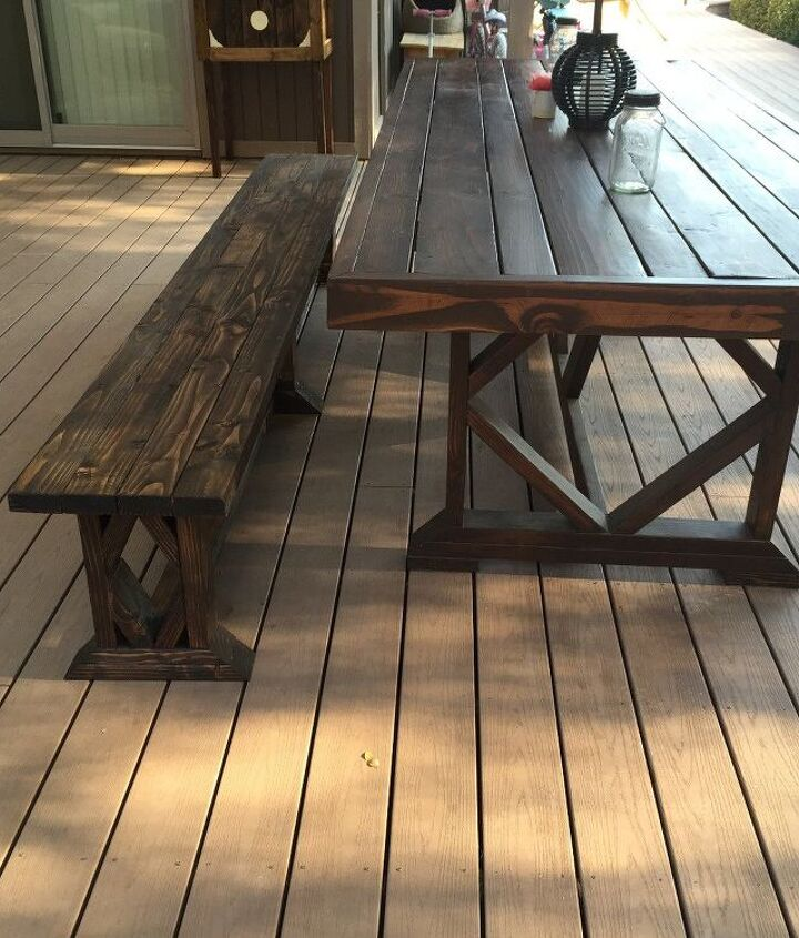 s 10 lovely benches you can build for your backyard and relax on, Add Extra Length For Your Wooden Bench