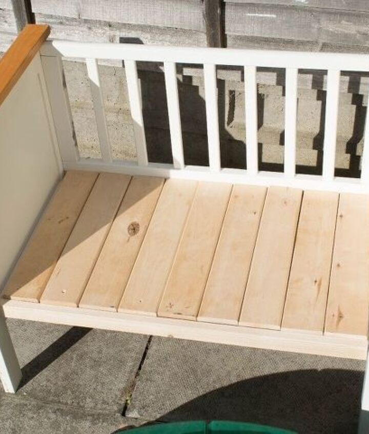 s 10 lovely benches you can build for your backyard and relax on, Make A New Bench From An Old Crib