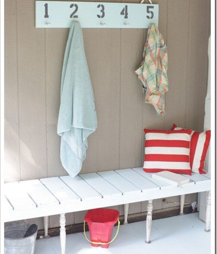 s 10 lovely benches you can build for your backyard and relax on, Use Spindles For Your Bench Legs