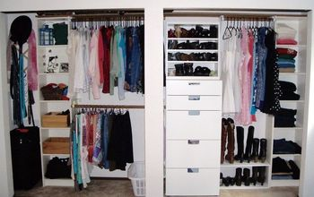 custom closet makeover on a diy budget