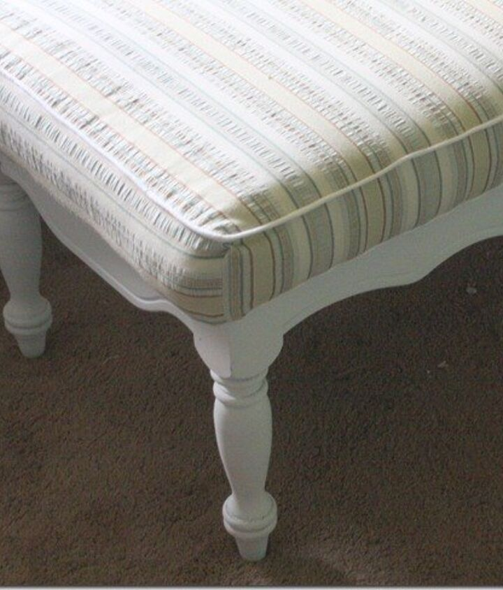 s 12 amazing ottomans you and your family can make and enjoy, Add A Mattress Pad Onto A Table