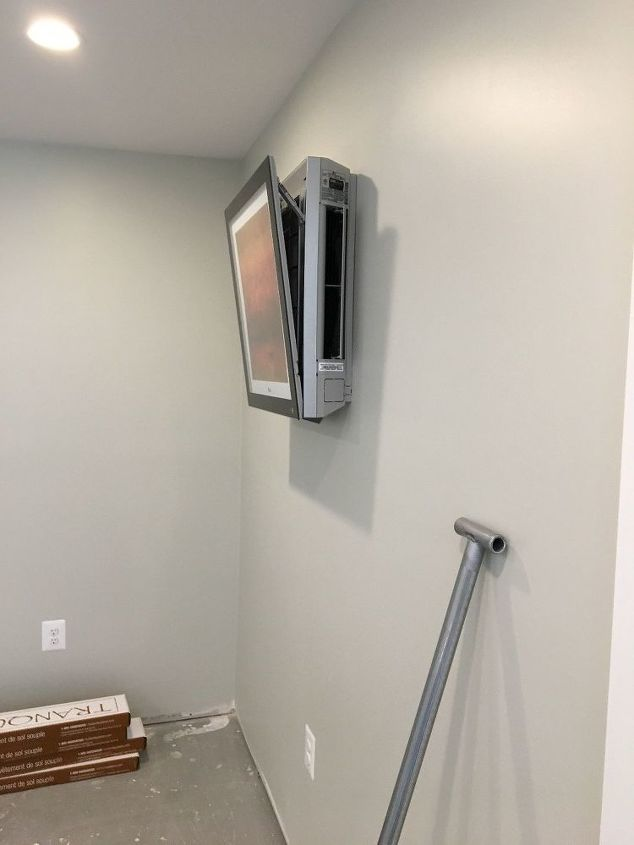 q what to do about new wall a c units that look awful