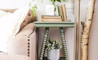 the easiest way to paint furniture with curves