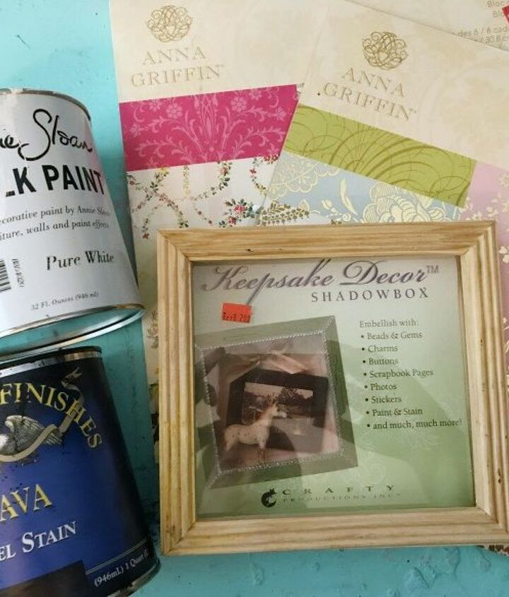 diy travel memories shadowbox