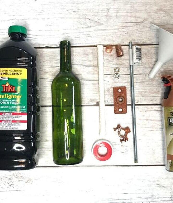 5 ways to use old wine bottles