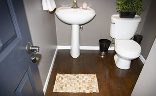 diy cork bath mat and other bath mat ideas