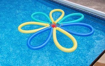 Pool Noodle Flower Float