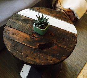 Turn A Dusty Cable Spool Into A Trendy Coffee Table