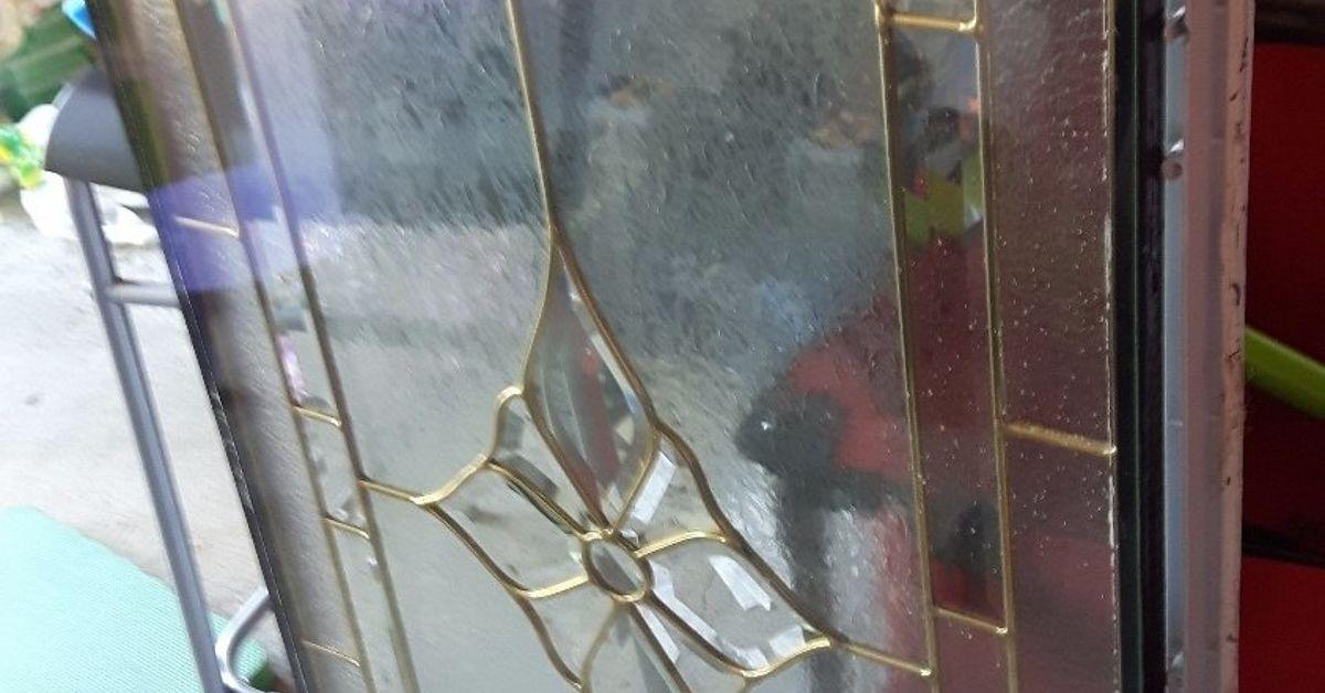 Glass Door Insert To Table Hometalk