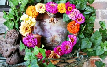 Fresh Floral Summer Wreath
