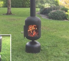 wood burning patio heater DIY Patio Heater Fire Pit Hometalk
